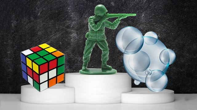 2014 Toy Hall of Famers Include Rubik's Cube, Army Men, and Bubbles?