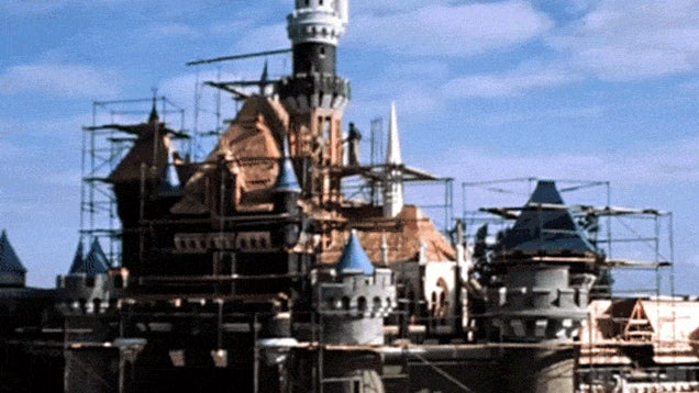How 1950s Disneyland Was Built