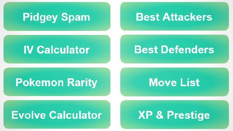 Poké Assistant Has Eight Useful Pokémon Go Tools All In One Kit