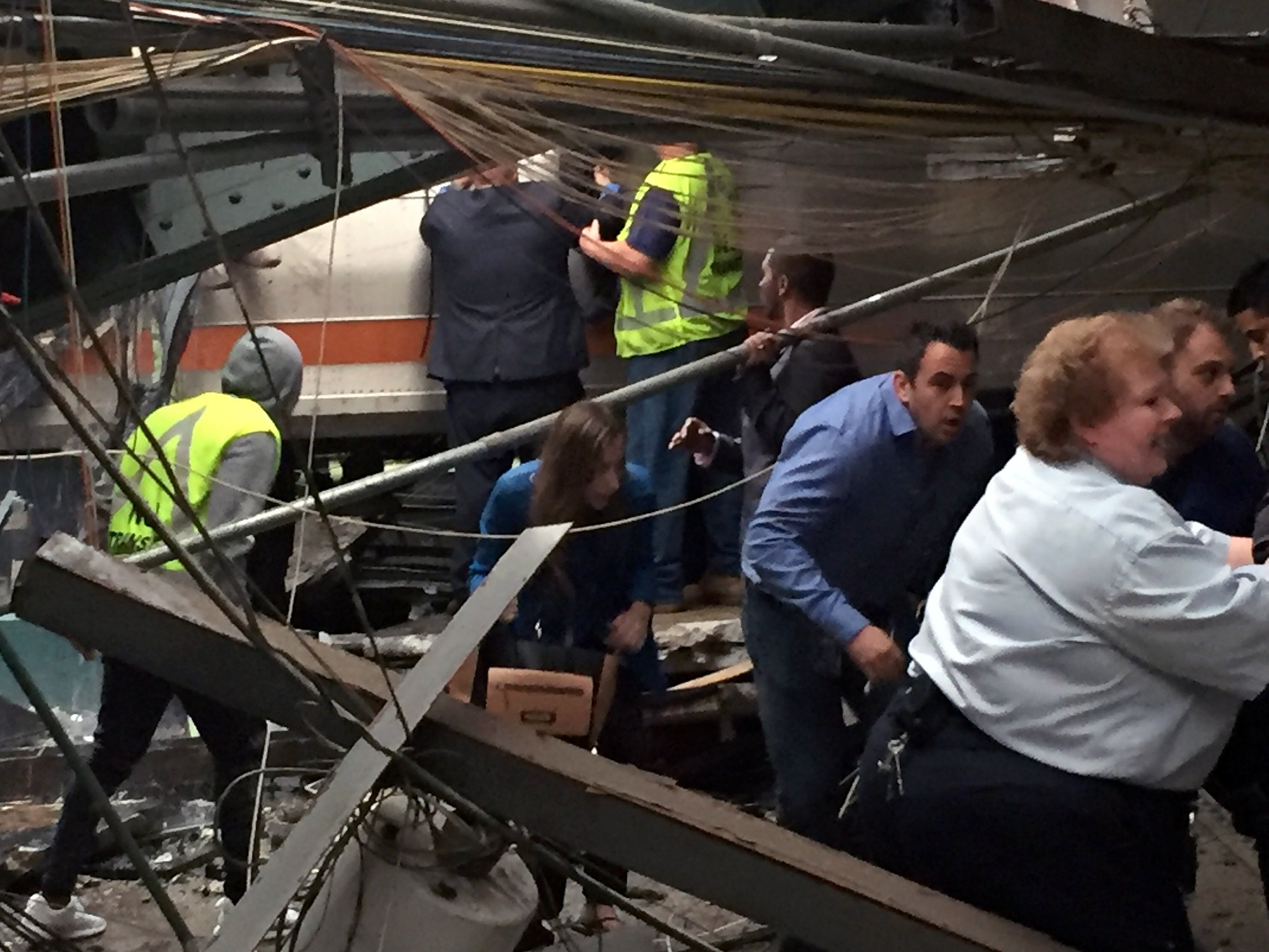 Train Crashes Into New Jersey Station, 1 Dead, Dozens Injured