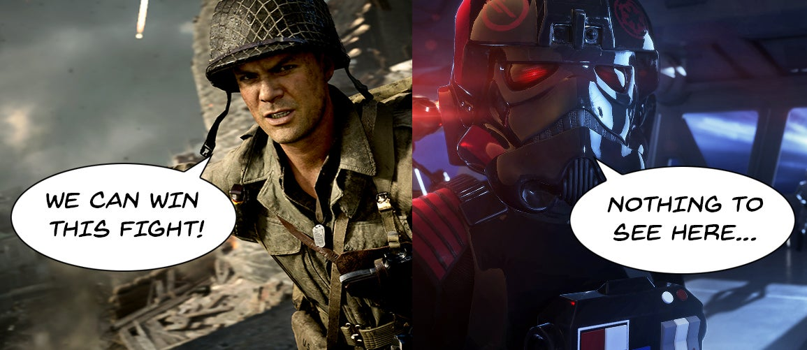 The Call Of Duty: WWII Fiasco Vs. TheStar Wars: Battlefront II Mess: The Comparison We Had To Make