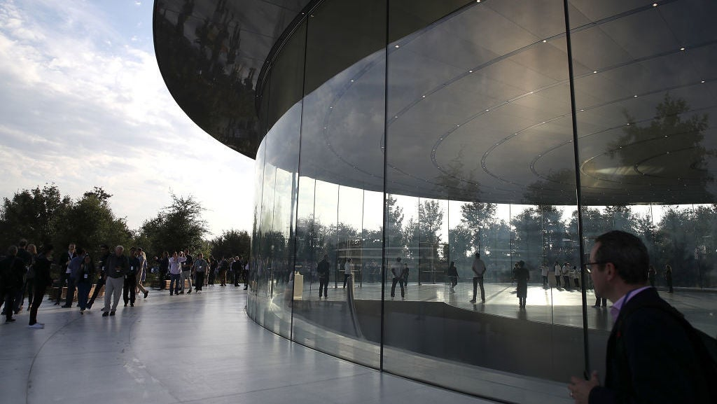Apple's Excellence In Design Leads To Employees Smacking Into Glass Walls