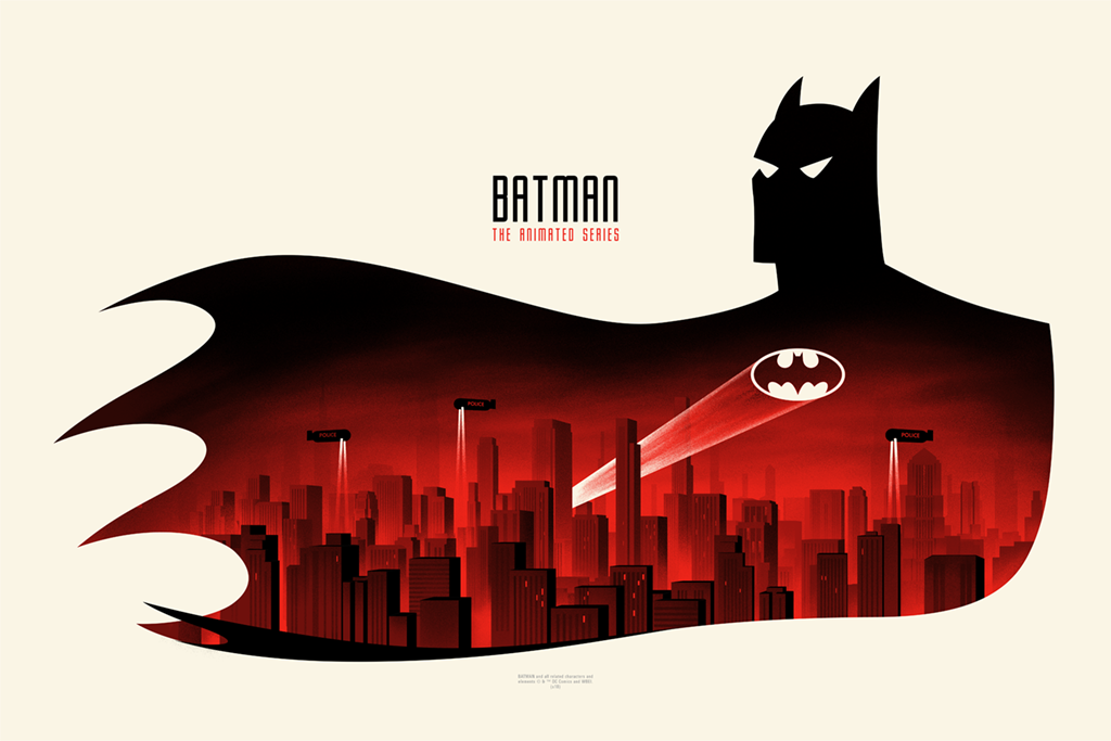 'The Best Batman Of All' Takes The Spotlight In This Batman: The Animated Series Art Show