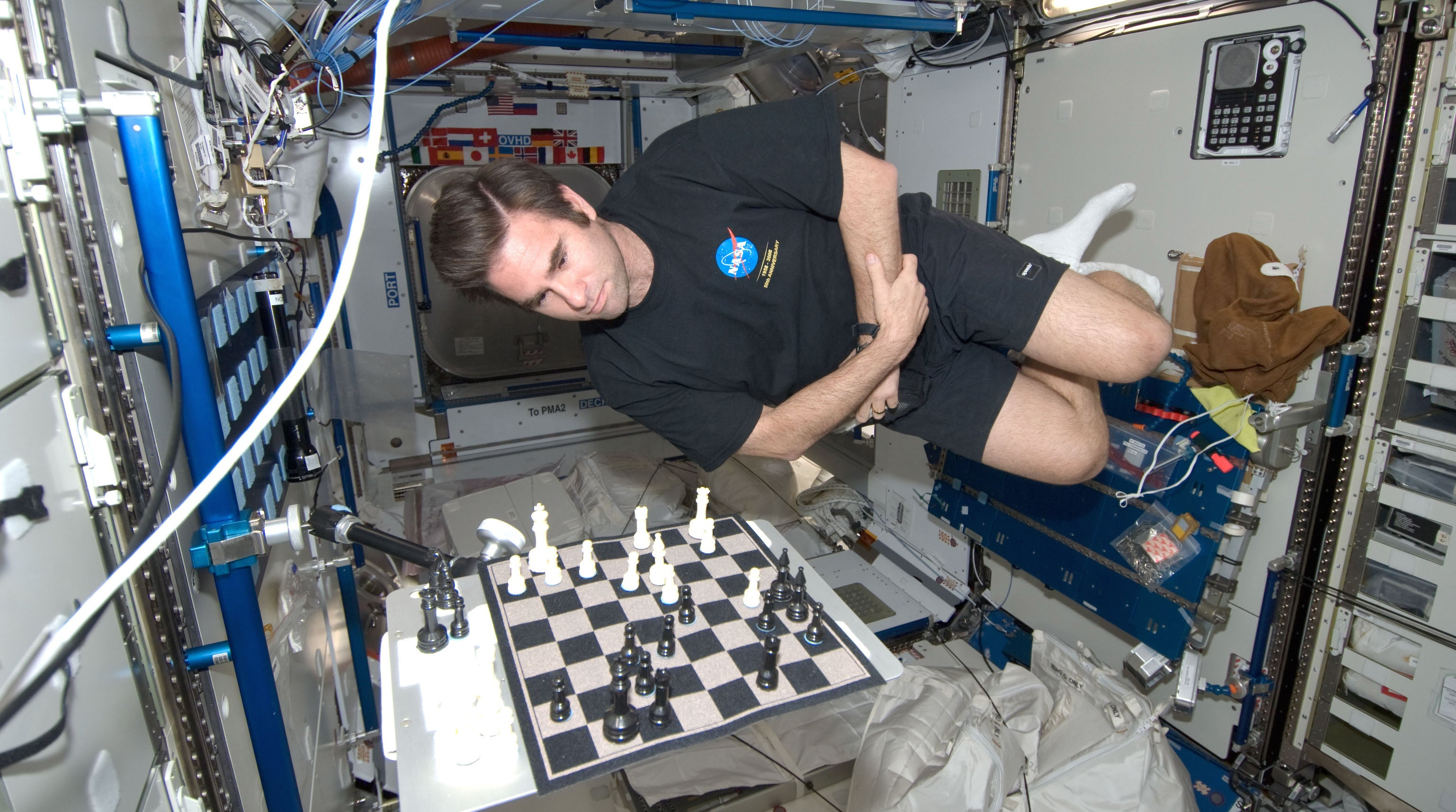 What Actually Goes Down On The International Space Station