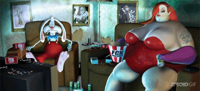 What happened to your favourite cartoon characters after they got famous