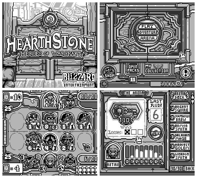 Hearthstone Could've Looked Pretty Great on the Game Boy