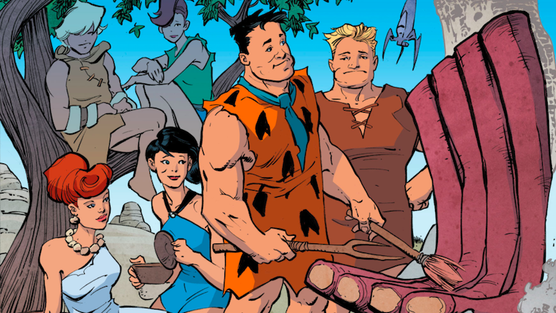 The Flintstones Comic Is A Darkly Funny Story About The Perils Of Late Stage Capitalism