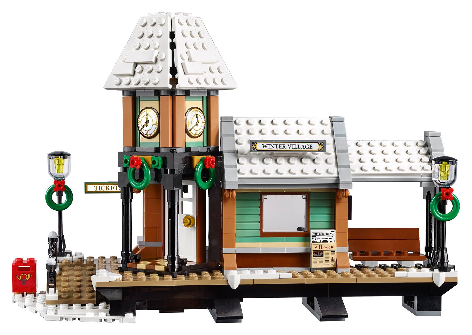 LEGO's 2017 Holiday Set Is Just Waiting For A Train | Kotaku Australia