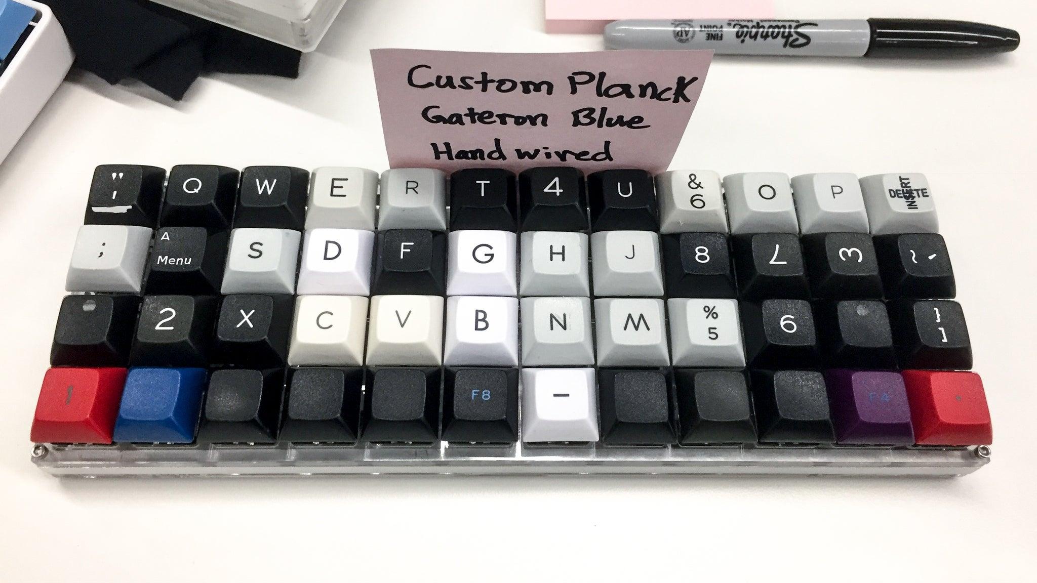 Key crazy inside the wonderful world of keyboard fanatics gizmodo a hand wired planck keyboard image alex cranzgizmodo buycottarizona Image collections
