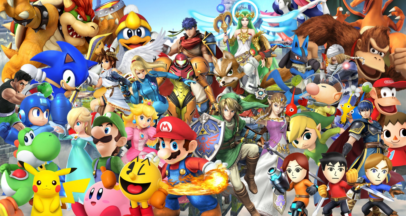 Watch The Wii U Version of Super Smash Bros Right Now