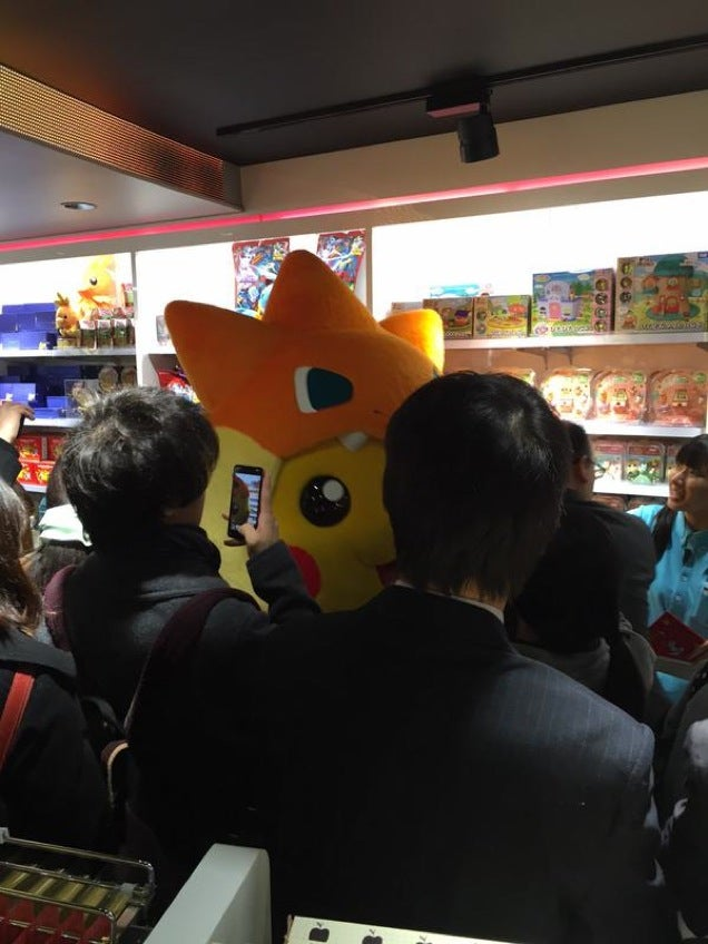 The Biggest Pokémon Center in Japan Opens