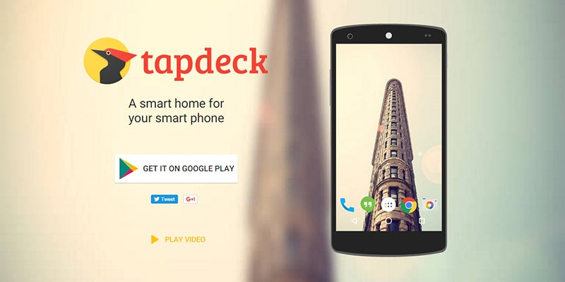 Get Smarter Wallpaper on Android with TapDeck