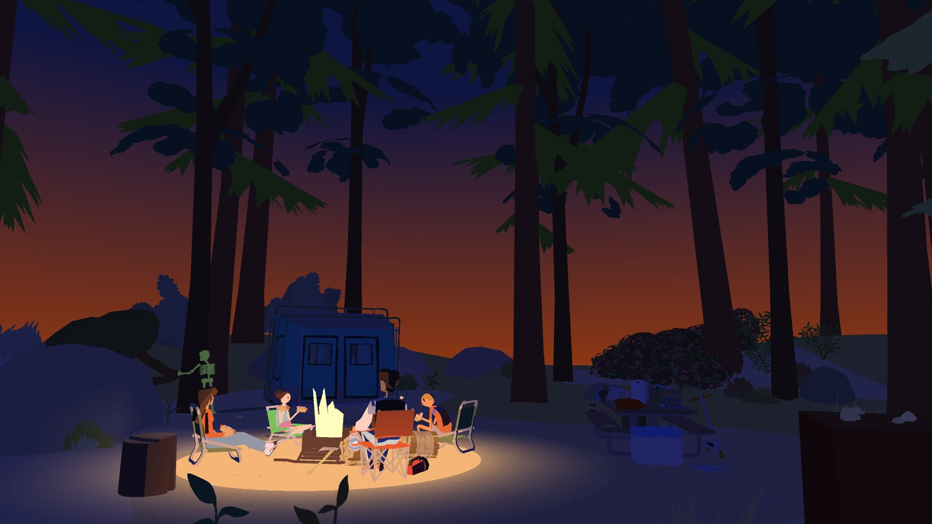 Wide Ocean Big Jacket, A Chill Game About Camping, Is The Perfect Length