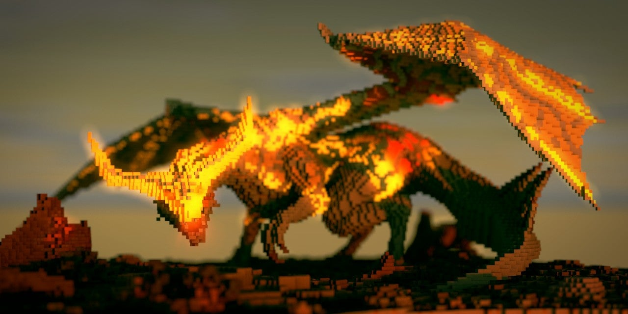 Up Close, Dragon Age Dragons are Quite Menacing
