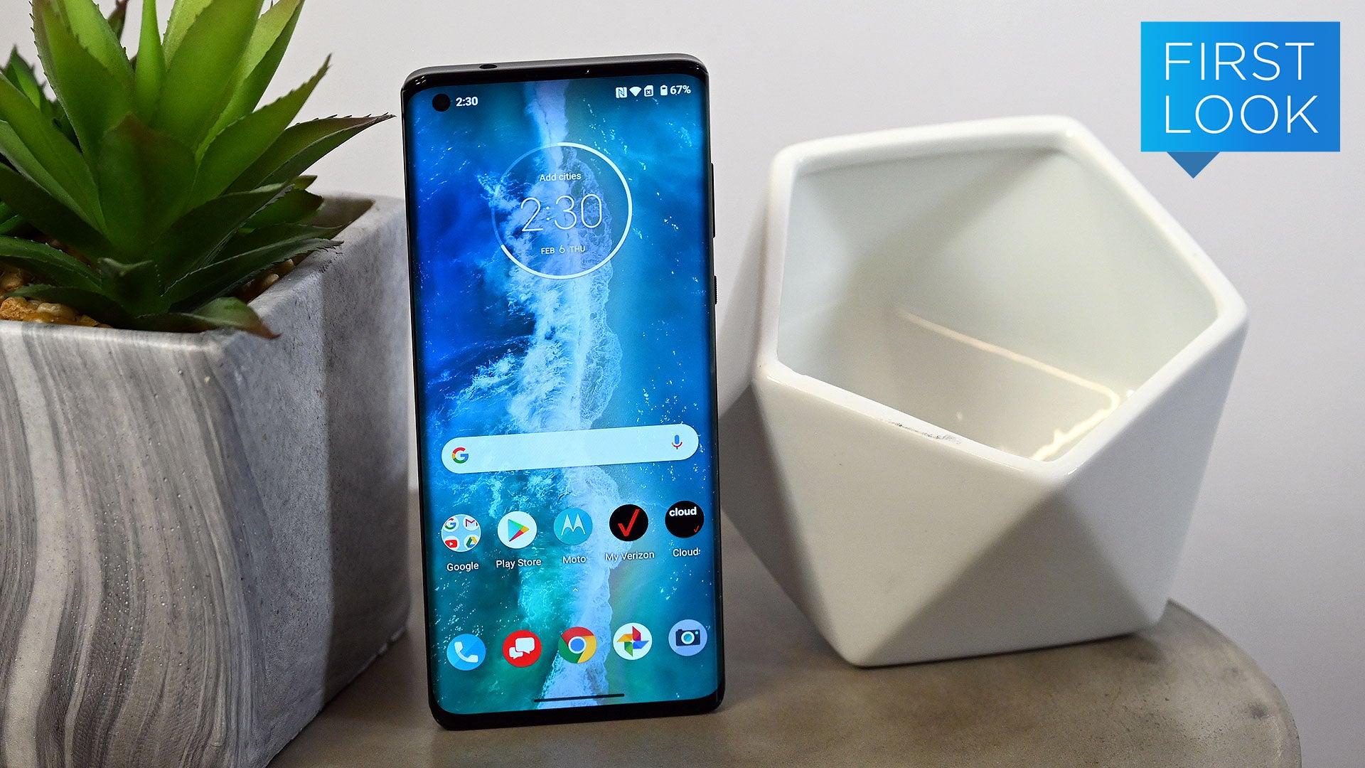 Motorola Edge+: Endless Edge Screen And A Goddamn Headphone Jack For Less Than Samsung's Best