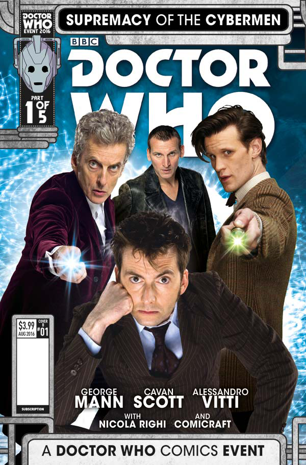 Time Lords Collide in This First Look at the New Doctor Who Comic Crossover