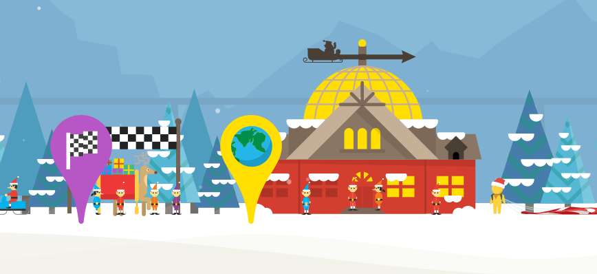 This Year, Google's Santa Tracker Gets Kids to Code