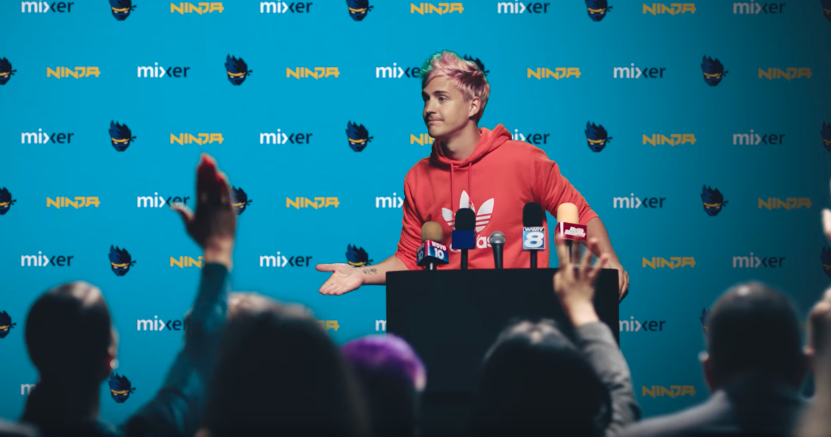 The Wig Joke In Ninja's Mixer Announcement Sucked