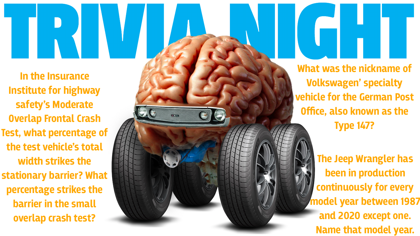 These 50 Obscure Car-Themed Trivia Questions Will Stump You