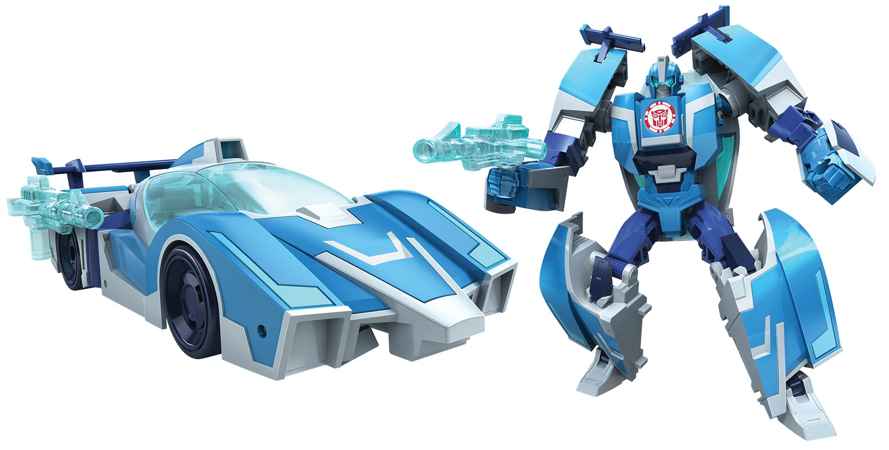 the new robots in disguise toys are inspired by the 80s