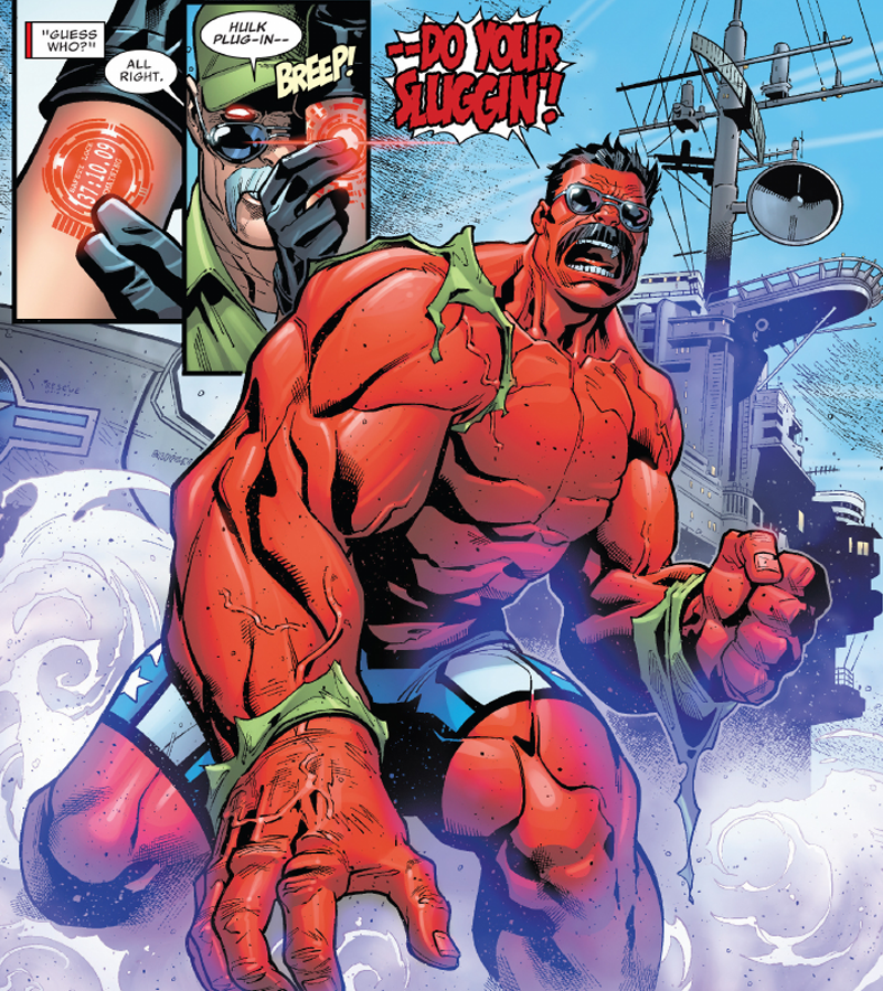 U s avengers introduces a whole new red hulk kotaku - Pictures of red hulk ...