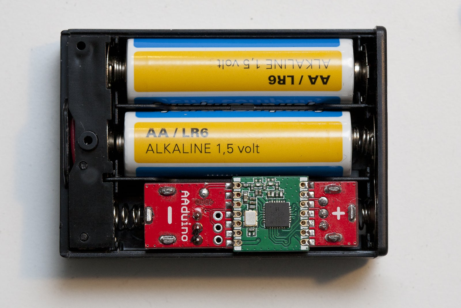 Think of the Things You Could Do With This AA-Sized Arduino Board