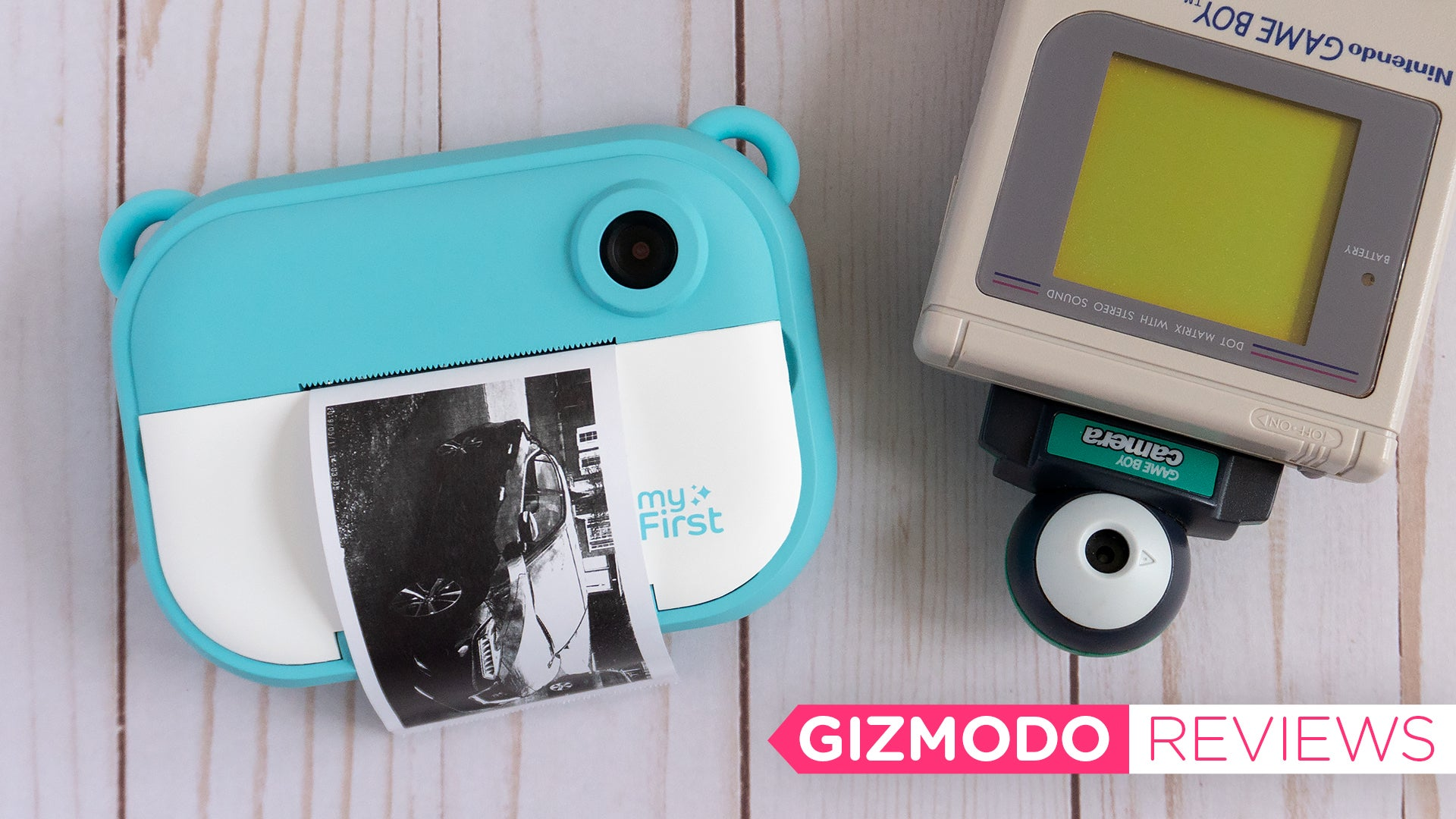 This Instant Camera Prints On Cheap Thermal Paper And Reminds Me Of My Beloved Game Boy Camera