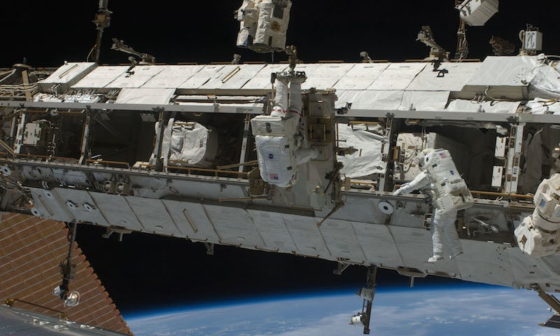 Stuck Cart is Triggering an Unexpected Spacewalk Next Week