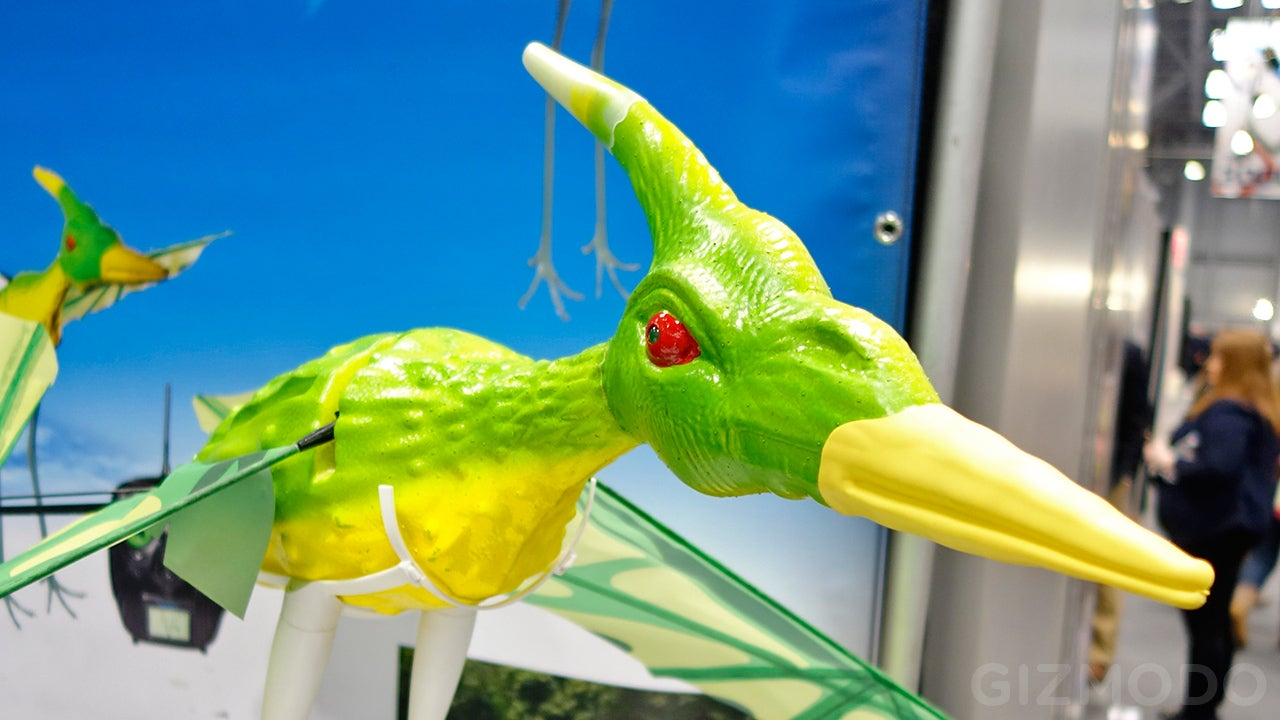 Terrorize the Skies With a Prehistoric Flying RC Pterodactyl