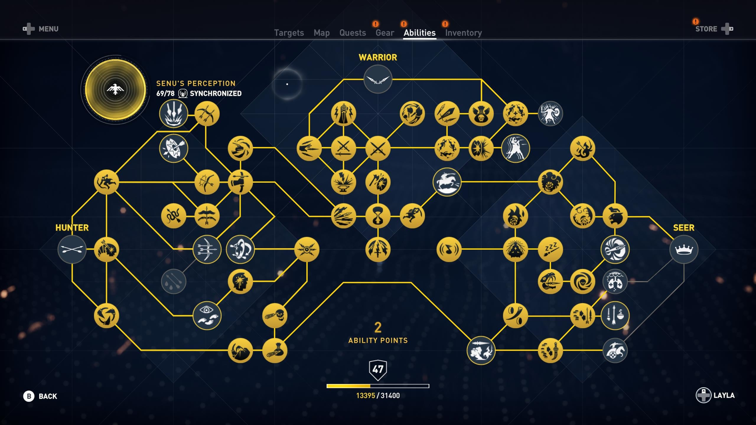 Assassin S Creed Odyssey Smartly Refines The Origins Skill Tree