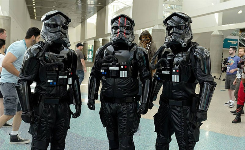 The First Order's TIE Pilots Are Lookin' Sharp