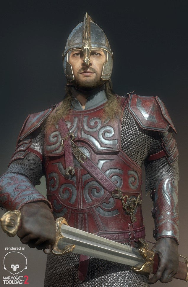Éomer, Son of Éomund, You Sure Look HD