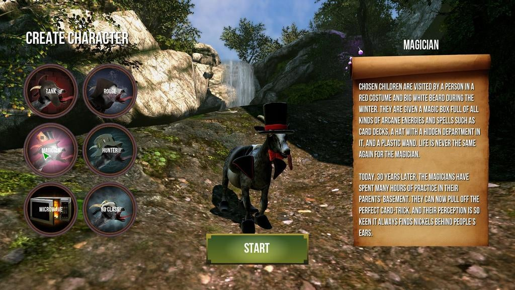 Free Update Transforms Goat Simulator Into Goat MMO Simulator