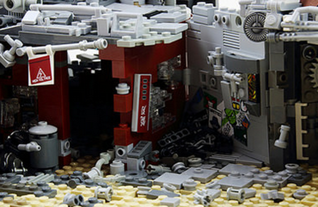Cyberpunk LEGO Is, Sadly, Not Official