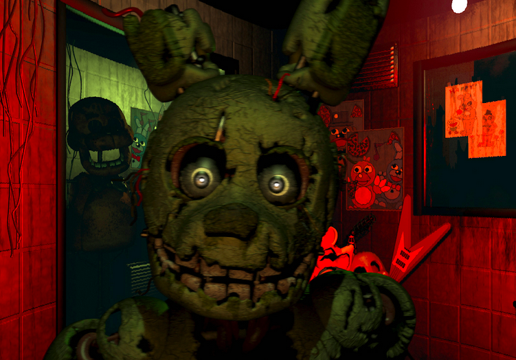 Surprise! Five Night's At Freddy's 3 Just Came Out