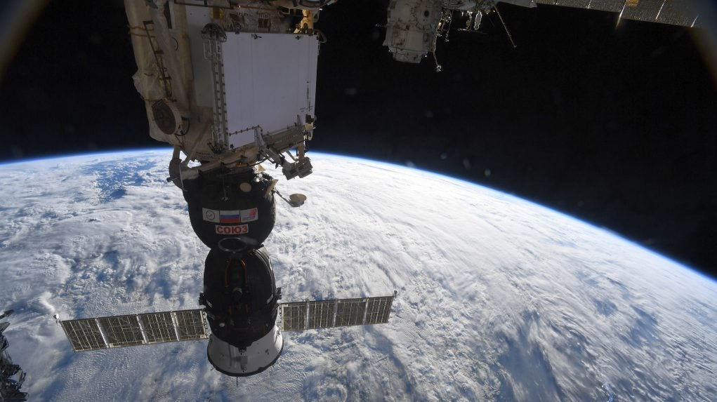 Watch Russian Cosmonauts Inspect Mysterious ISS Hole In 'Unprecedented' Spacewalk