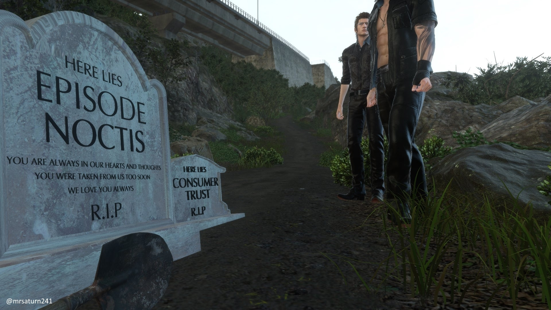 The Death Of Final Fantasy XV DLC Memorialised In Mod