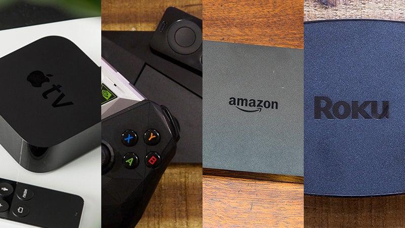 Battle Of The TV Boxes: Android Vs Apple Vs Amazon Vs Roku