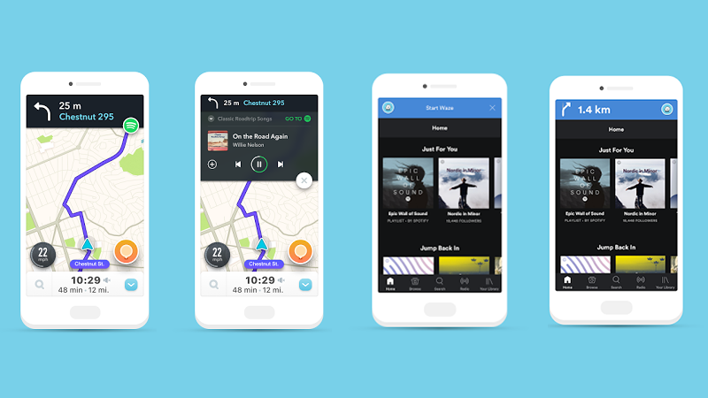 Waze Will Let You Control Spotify Without Ever Leaving The App