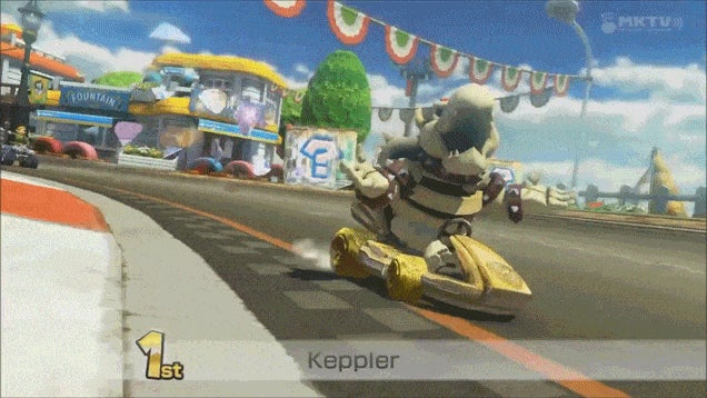 A Mario Kart Finish To Remember