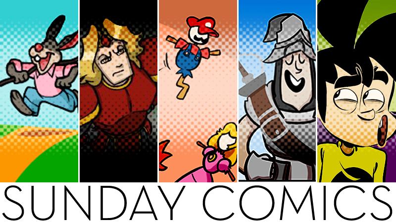 Sunday Comics: What A Cute Rabbit!