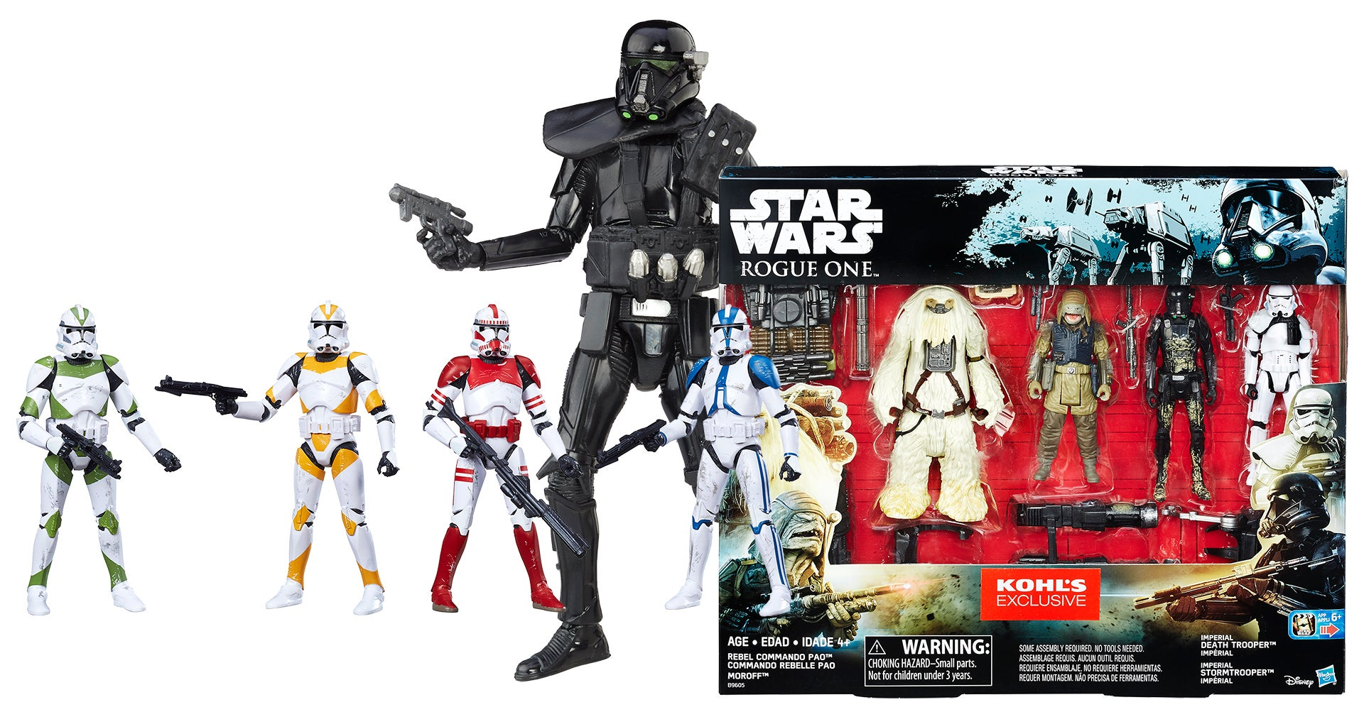 Keep Your Eyes Peeled For These Rogue One: A Star Wars Story Retailer Exclusives