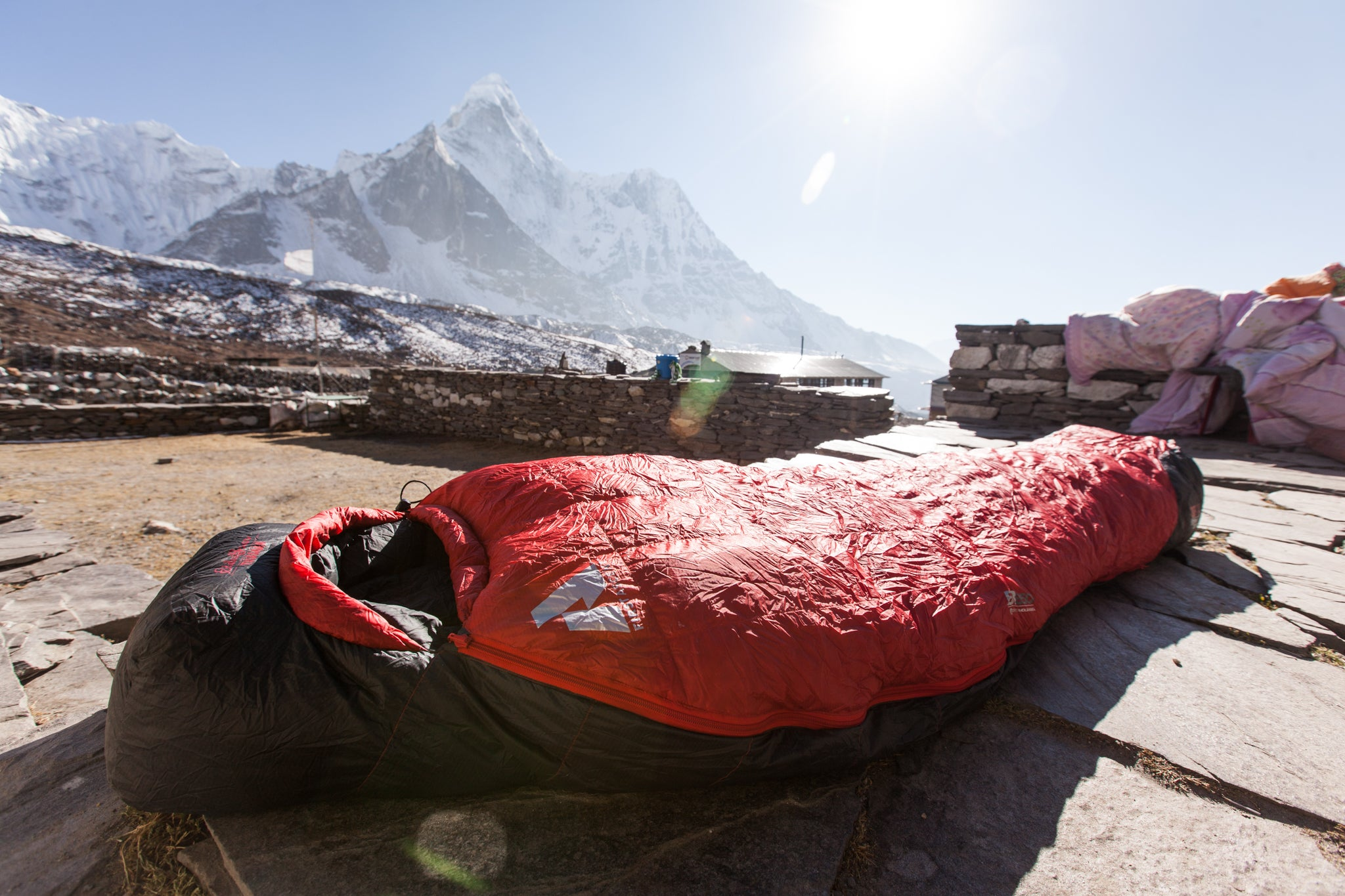 What It Feels Like To Crawl Into A -30F Sleeping Bag In The Himalaya