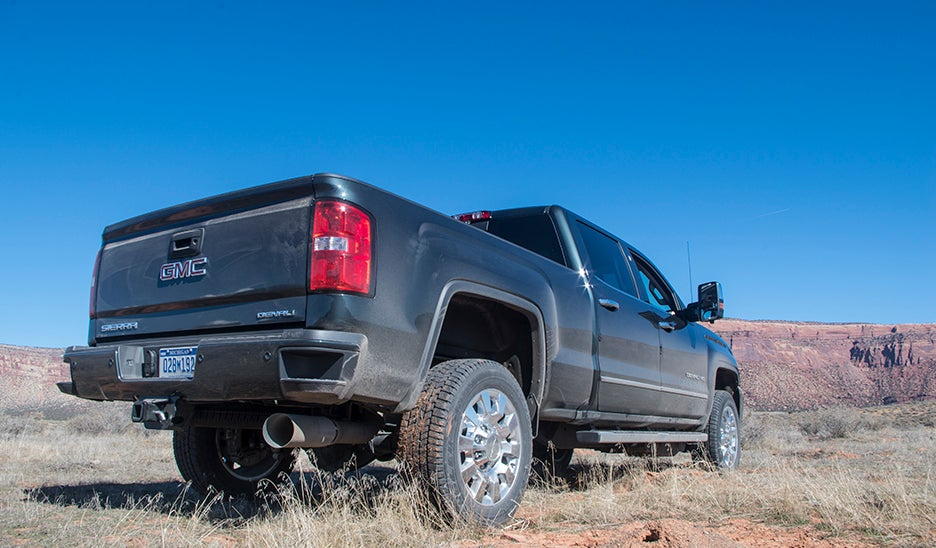 Why Diesel Pickup Trucks Need Extra Vents In Their Exhaust Tips