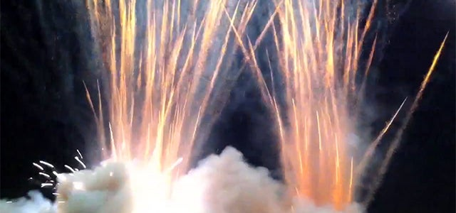 Watching 2500 Rockets Firing Up At The Same Time Is A Lot Of Fun