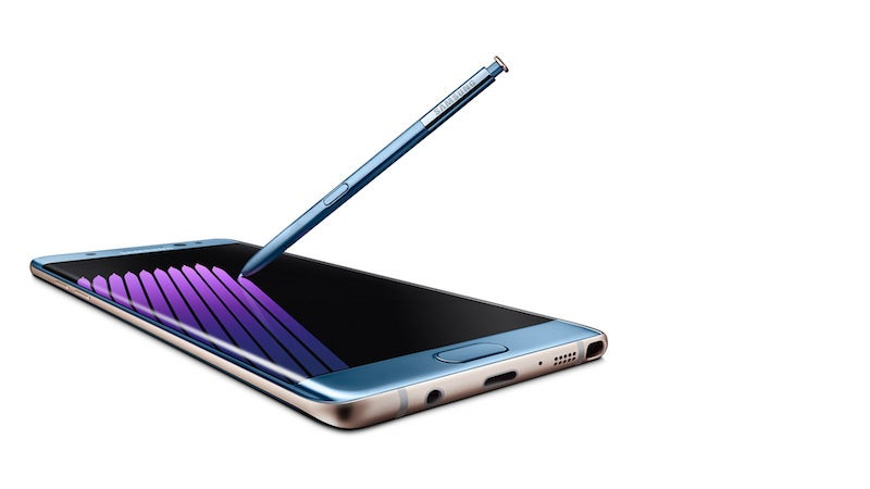 Samsung Recalls Galaxy Note 7 Devices, Will Replace All Units With A New One