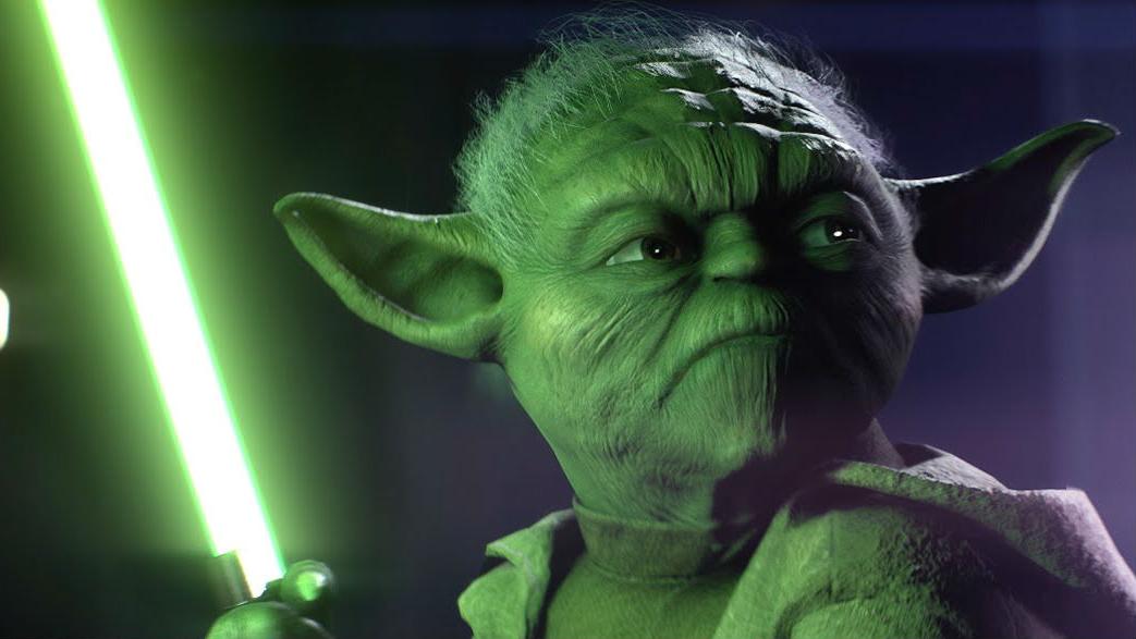 Block, Yoda Can Finally