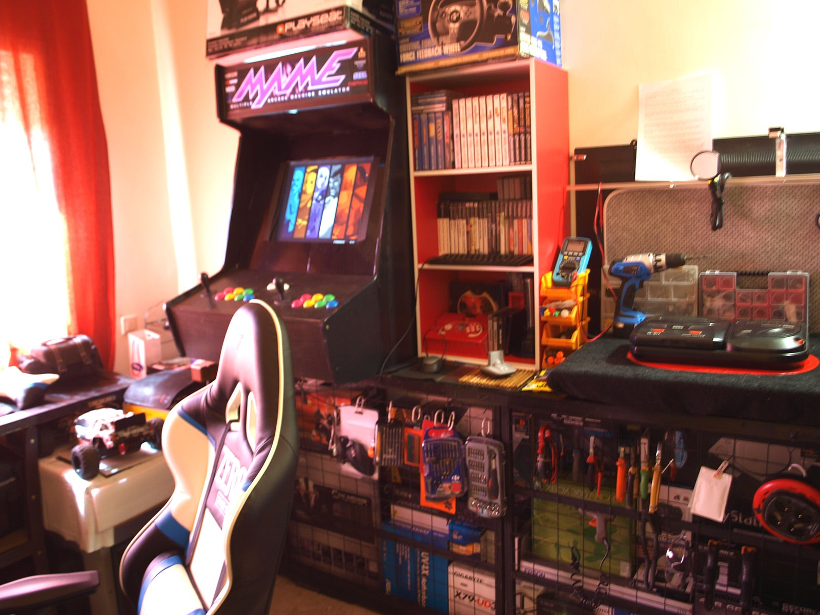 The Arcade Work and Play Space