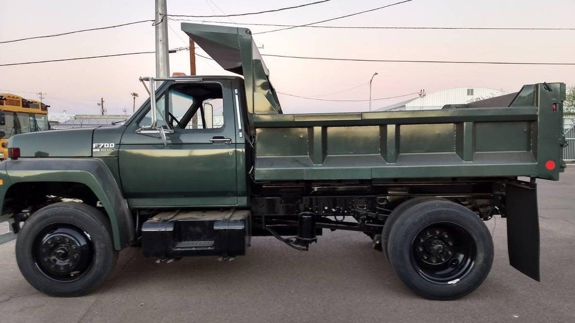 Somebody Made A Bullitt Mustang Ford Dump Truck
