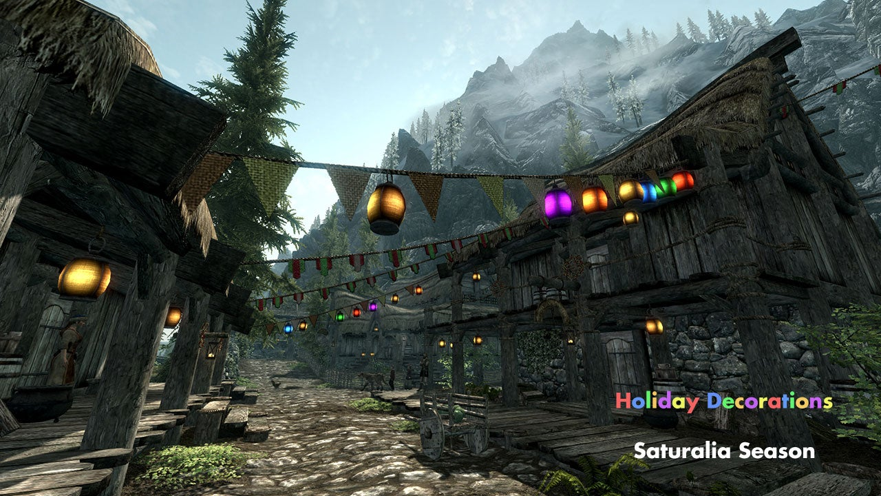 Skyrim NPCs Finally Get A Holiday